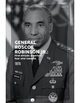 Black History Poster Roscoe Robinson Jr.