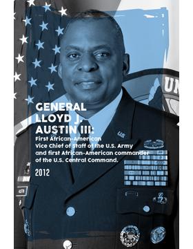 Black History Poster Lloyd J. Austin III