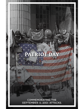 Military Holiday Poster Patriot Day