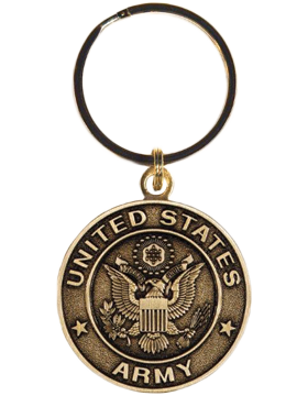 US Army Key Ring Style 9 Bronze