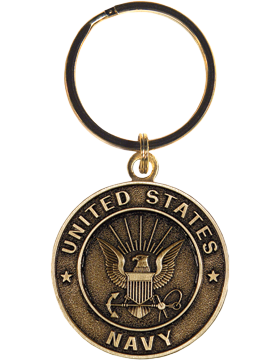 US Navy Key Ring Style 9 Bronze
