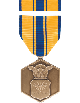 Air Force Commendation Full Size Medal Box Set without Lapel Pin
