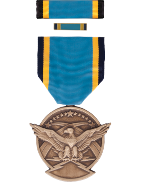 Air Force Aerial Achievement Full Size Medal Box Set with Lapel Pin