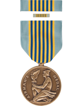 Airman Medal Full Size Medal Box Set with Lapel Pin
