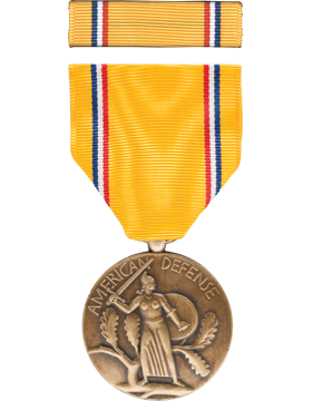 American Defense Full Size Medal Box Set without Lapel Pin