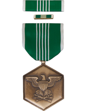 Army Commendation Full Size Medal Box Set with Lapel Pin