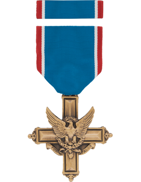 Army Distinguished Service Cross Full Size Medal Box Set with Lapel Pin