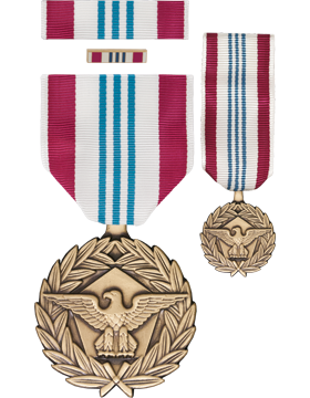 Defense Meritorious Service, Box Set w/Lapel Pin & Mini Medal