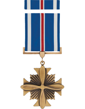 Distinguished Flying Cross Full Size Medal Box Set without Lapel Pin