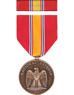 National Defense Full Size Medal Box Set without Lapel Pin