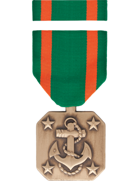 Navy and Marine Corps Achievement Full Size Medal Box Set without Lapel Pin