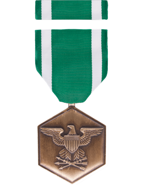 Navy Commendation Full Size Medal Box Set without Lapel Pin