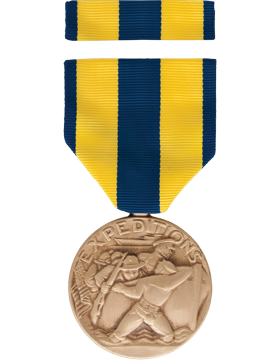 Navy Expeditionary Full Size Medal Box Set without Lapel Pin