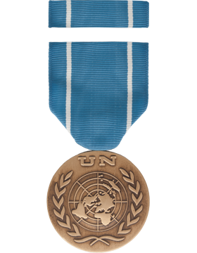 United Nations Observer Full Size Medal Box Set without Lapel Pin
