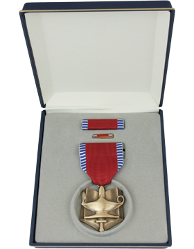 ROTC Superior Cadet Medal Box Set with Lapel Pin small