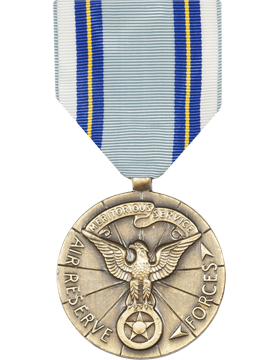 Air Reserve Forces Meritorious Service Full Size Medal (Nail Back)