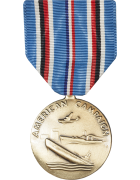 American Campaign Full Size Medal (Nail Back)