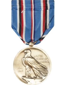 American Campaign Full Size Medal (Pin Back) small