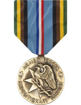 Armed Forces Expeditionary Full Size Medal (Nail Back)