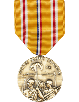 Asiatic Pacific Campaign Full Size Medal (Nail Back)