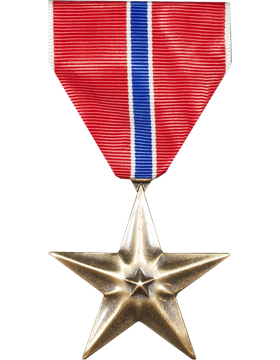 Bronze Star Full Size Medal (Nail Back)