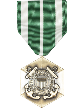 Coast Guard Commendation Full Size Medal (Nail Back)