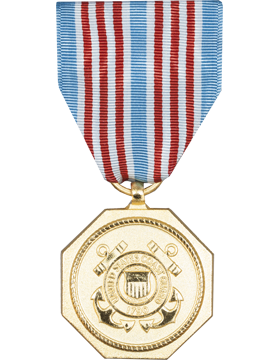 Coast Guard Medal Full Size Medal (Nail Back)