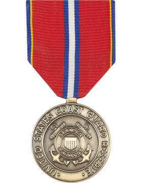Coast Guard Reserve Good Conduct Full Size Medal (Nail Back)