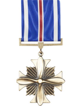 Distinguished Flying Cross Full Size Medal (Nail Back)