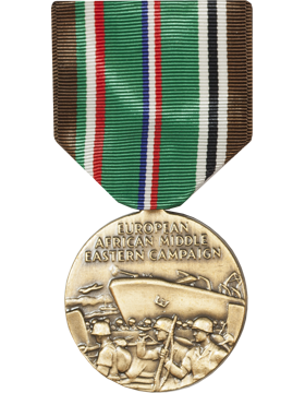 European African Middle East Campaign Full Size Medal (Nail Back)