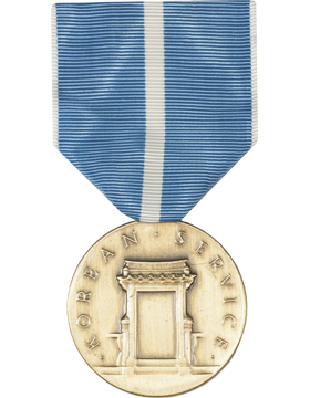Korean Service Full Size Medal (Nail Back)