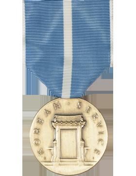 Korean Service Full Size Medal (Nail Back)