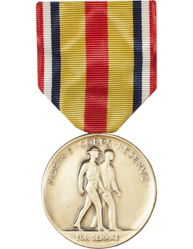 Marine Organization Reserve Full Size Medal (Nail Back)