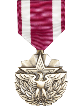 Meritorious Service Full Size Medal (Nail Back)