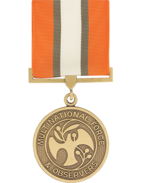 Multinational Force & Observers Full Size Medal (Nail Back)