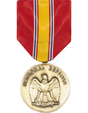 National Defense Full Size Medal (Nail Back)