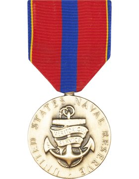 Navy Reserve Meritorious Service Full Size Medal (Pin Back)