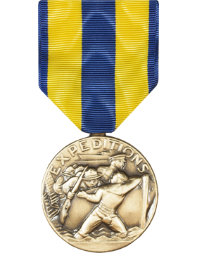 Navy Expeditionary Full Size Medal (Nail Back)