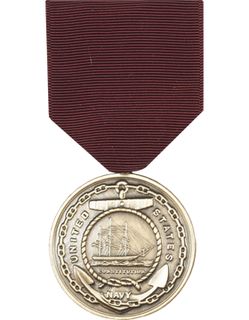 Navy Good Conduct Full Size Medal (Nail Back)