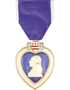 Purple Heart Full Size Medal (Nail Back)