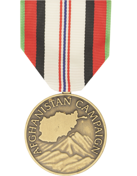 Afghanistan Campaign Full Size Medal (Nail Back)