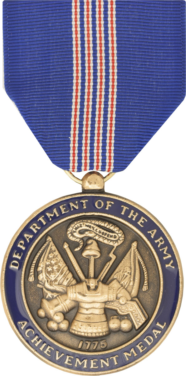 Army achievement medal for civilian service full size