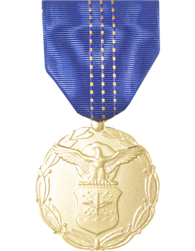 Air Force Exceptional Civilian Service Award Full Size Medal (Nail Back)