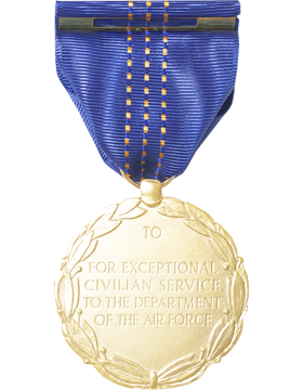 Air Force Exceptional Civilian Service Award Full Size Medal Pin B