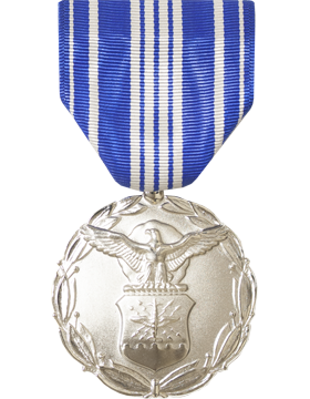 Air Force Civilian Achievement Full Size Medal (Nail Back)