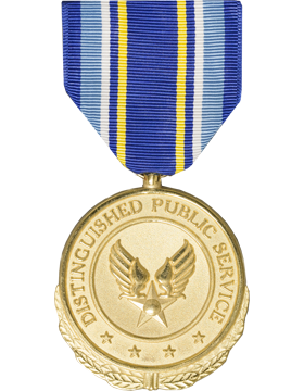 Air Force Distinguished Public Service Award Full Size Medal (Nail Back)