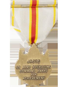 JROTC Recruiting Command Achievement Award Full Size Medal (Nail Back) small