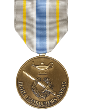 JROTC Instructor Award Full Size Medal (Nail Back)
