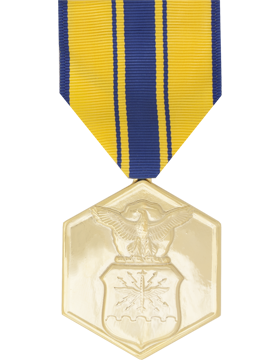 Air Force Commendation Full Size Anodized Medal