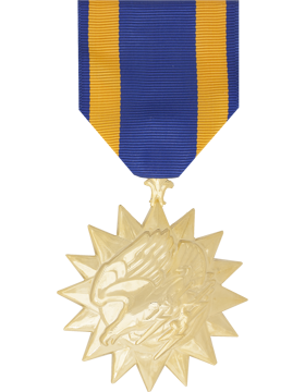 Air Medal Full Size Anodized Medal